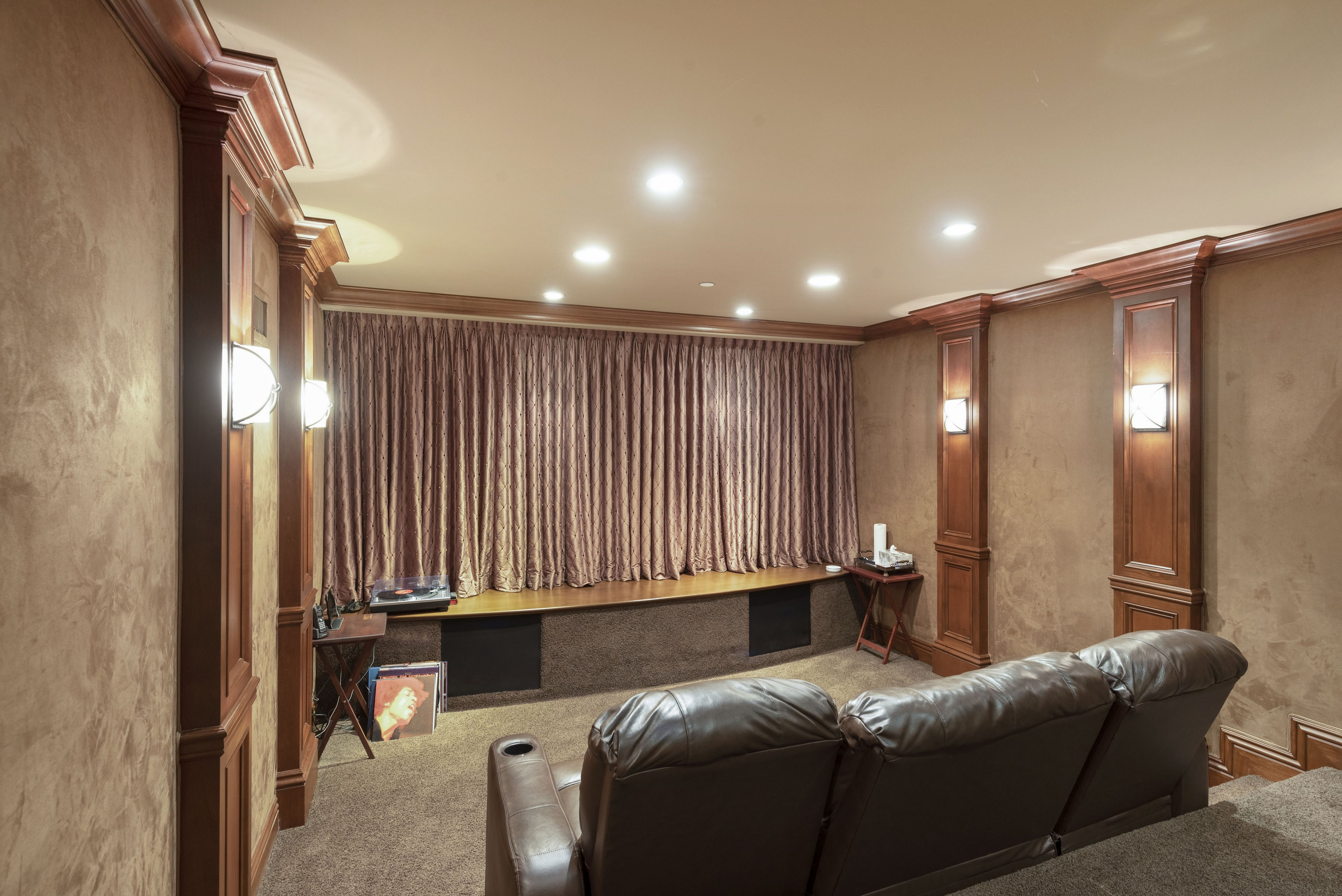 Basement Movie Theater